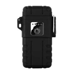 ArcLighter vattentät uppladdningsbar USB-tändare svart