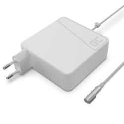 Green Cell laddare till Macbook 85W Magsafe (L-kontakt)