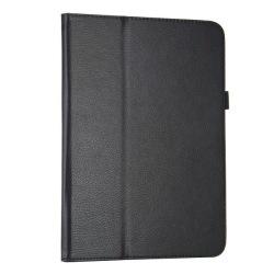 Läderfodral med ställ till Samsung Galaxy Tab 3 10.1, svart svart