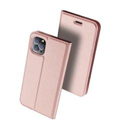 DUX DUCIS Skin Pro Series läderfodral till iPhone 11 Pro rosa