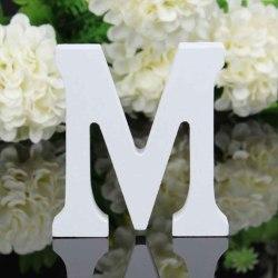 26 stora träbokstäver alfabetet bröllopsfest heminredning letter M