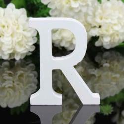 26 stora träbokstäver alfabetet bröllopsfest heminredning letter R
