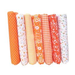 7st bomullsduk hantverkstyg patchwork tyg DIY sömnad 50*50cm