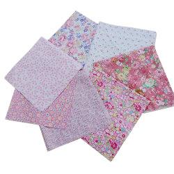 7st / uppsättning Bomullssömnad Patchwork Textil Rosa Serie 50 * 50cm random 7pcs 50*50cm