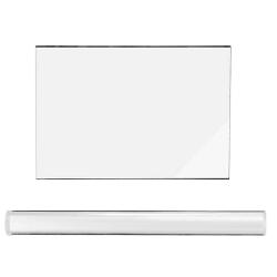 2st / set lera rullar rektangel ark set modellering verktygssats as the picture