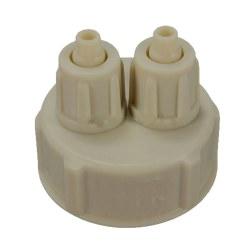 Bottle Gauge Cap Tube Valve Kit For DIY Aquarium Planted Tank 1pcs CO2 Bottle Cap