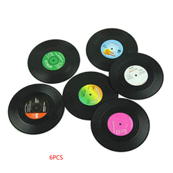 Plåtsmattor av plastmugg Vinylplattformar för bord as the picture