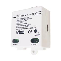 Smart Switch Light Fan APP Fjärrkontroll Intelligent Timer as the picture