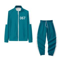 1Set * Squid Game Drama Cosplay -kläder 067 S