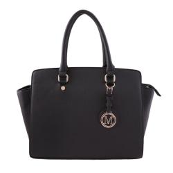 Handväska i klassiskt design Svart one size