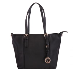Handväska i läderimitation - G&D Svart one size