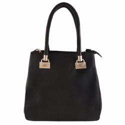 Handväska, lång handtag Svart one size