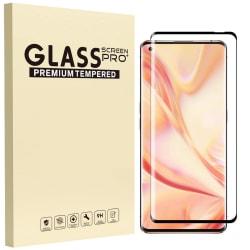 Glasskydd OnePlus 8 Härdat Täcker hela skärmen Transparent one size