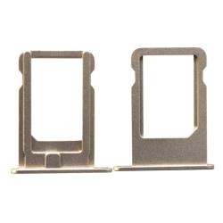 Simkortshållare för iPhone 5s guld Guld