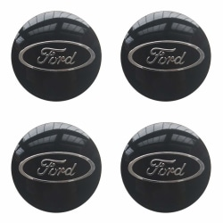 F11 - 60MM 4-pack Centrumkåpor Ford Silver one size