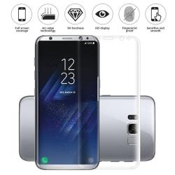 Heltäckande Skärmskydd för Samsung S8 i Plast Transparent one size