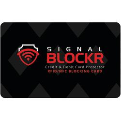 RFID Blockerings kort - RFID skydd - Skimming Blocker Svart one size