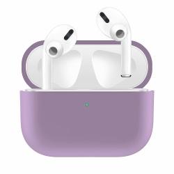 Silikonskal fodral för Apple Airpods PRO Lila Lila one size
