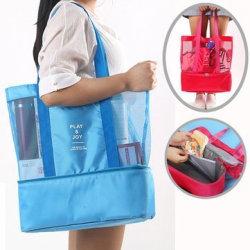 Stor Smidig Väska med Extra Kyl Utrymme Blå Blå one size