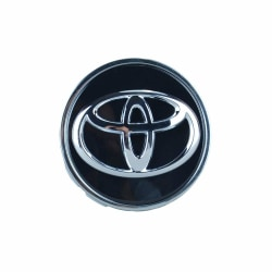 TO30- 62MM  4-pack Centrumkåpor Toyota Silver one size