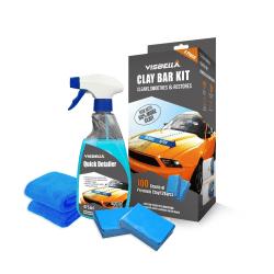Visbella Rengöringslera paket Clay Bar kit  Transparent one size