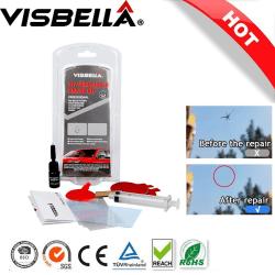Visbella Stenskottslagning Kit Vindrutereparation Transparent