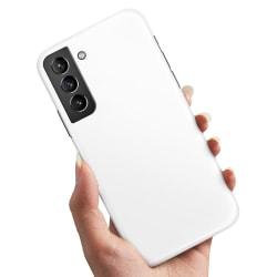 Samsung Galaxy S21 - Skal / Mobilskal Vit Vit