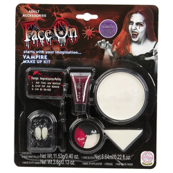 Lyxigt Vampyr Sminkset / Sminkkit - Smink - 5 Delar - Halloween