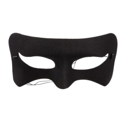 Svart Ögonmask / Mask - Halloween & Maskerad Svart