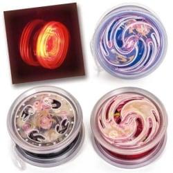 Jojo / Yoyo med Kullager & LED Belysning multifärg