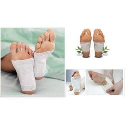 Detoxplåster för Fötter - Detox - 10-Pack Transparent