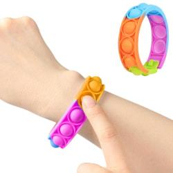 Armband Pop It Fidget Toys - Leksak / Sensory - Regnbåge multifärg