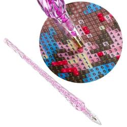 Penna för Diamond Painting / Diamantmålning Rosa