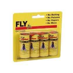 4-Pack - Flugfångare / Flugfälla / Myggfångare - Klister Tejp