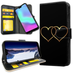 Huawei P30 Lite - Mobilfodral Double Hearts