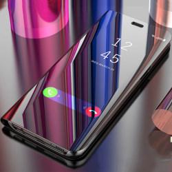 Huawei P40 Pro - Mobilfodral / Fodral Spegel - Svart Svart