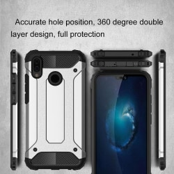 Huawei Y6 (2019) - Skal / Mobilskal Tough - Silver Silver