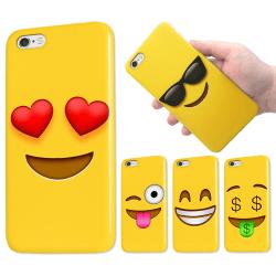iPhone 5/5S/SE - Skal / Mobilskal - Emoji - 15 Olika Motiv 6