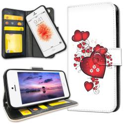 iPhone 5C - Mobilfodral Hjärtan