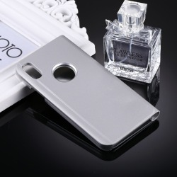 iPhone XR - Mobilfodral / Fodral Spegel - Silver Silver