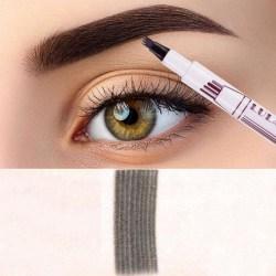 Ögonbrynspenna - Tattoo Ögonbryn - Mörkgrå