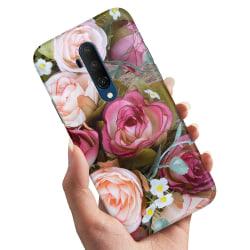 OnePlus 7T Pro - Skal / Mobilskal Blommor
