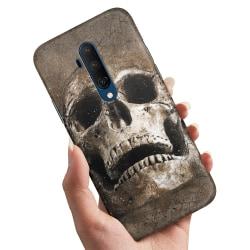 OnePlus 7T Pro - Skal / Mobilskal Cracked Skull