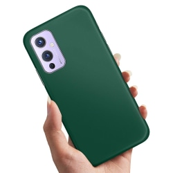 OnePlus 9 - Skal / Mobilskal Mörkgrön