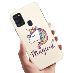 Samsung Galaxy A21s - Skal / Mobilskal Magisk Ponny