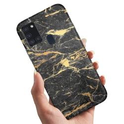 Samsung Galaxy A21s - Skal / Mobilskal Marmor