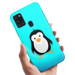 Samsung Galaxy A21s - Skal / Mobilskal Pingvin