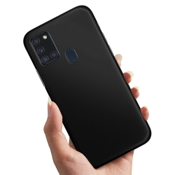 Samsung Galaxy A21s - Skal / Mobilskal Svart Svart
