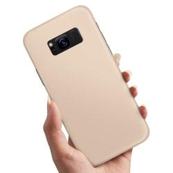 Samsung Galaxy S8 Plus - Skal / Mobilskal Beige Beige