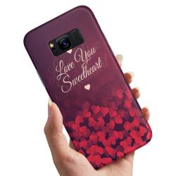 Samsung Galaxy S8 Plus - Skal / Mobilskal Hjärtan Love